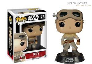 Star Wars Rey with Goggles 73 Funko Pop Vinyl US Exclusive EXPERT PACKAGING