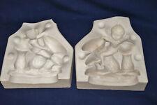 Vintage Ceramic Pottery Slip Casting Mold - Mc Nees - Elf & Toadstools - #295