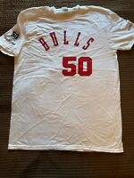 Brand New 1974 Style Chicago Bulls T-Shirt Stadium Giveaway 2016 SGA 50 Seasons