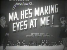 MA, HE'S MAKING EYES AT ME 1940 (DVD) CONSTANCE MOORE