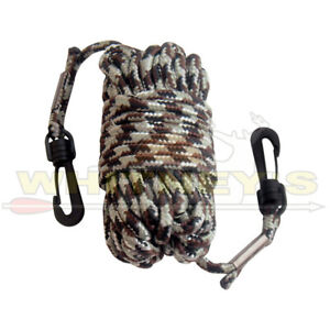 """Primos Hunting-Pull Up-(Nylon) Rope 30"""" w/ 2 Clasps - 6533"""