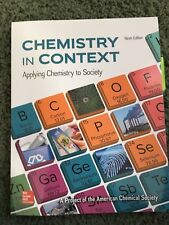 McGraw Hill Chemistry in Context Ninth Edition, LIKE NEW