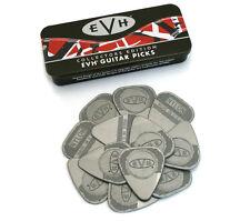 (12) EVH Eddie Van Halen .60mm Nylon Guitar Picks w/Collector Tin 022-0351-001