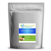 30 Wild Yam Extract 500mg Tablets - UK Made - High Quality Supplement