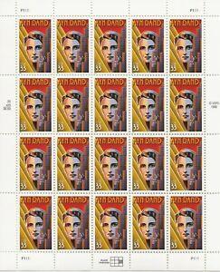 1999 33 cent Ayn Rand full Sheet of 20, Scott #3308, Mint NH