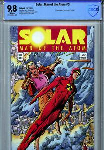 Solar, Man of the Atom #3 (1991) Valiant CBCS 9.8 1st Appearance of Toyo Harada!