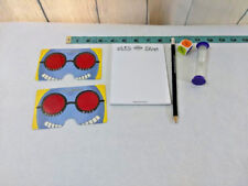 Cadoo Game Cranium Replacement Parts ~Timer~Glasses~Pencil & Paper~Die
