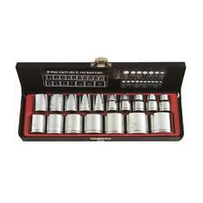 "Metrinch Socket Standard Set 1/2"" Dr 17 Pc Metric SAE Worn Nuts Trade Quality"