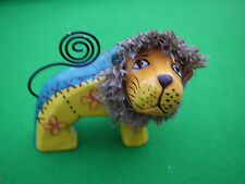 Wooden Lion Collectable Ornaments/Figurines