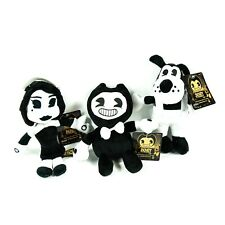 """8"""" Small Bendy and the Ink Machine Plush Toy Bendy Alice Angel Boris the Wolf"""