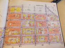 ORIG 1928 Brooklyn Greenpoint NYC New York City 10.5 x 12 Map 9