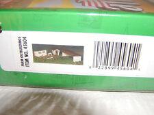 Bachmann 45604 Plasticville U.S.A. Farm Outbuildings Kit O 027 MIB New easy kit
