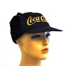 Coca-Cola Coke TRAPPEURS Casquette Chapeau Chaud Capuchon KEPI cache-oreilles Cap Noir