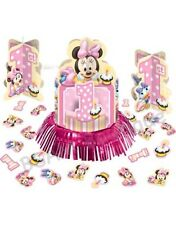 Minnie  Mouse 1st Birthday Table Decorations