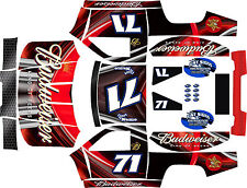 LOSI 5T WOODSTER WIDE HPI 5SC RED KING Theme  body wrap decals stickers skins