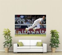 Stuart Broad England Cricket Giant 1 Piece  Wall Art Poster SP212