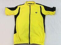 Pearl Izumi Mens Bright Yellow Short Sleeve Cycling Jacket Shirt