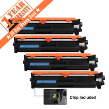 4pk HP CF230X 30X Toner Cartridge Comp for HP LaserJet Pro M227d M203d Hi-Yield