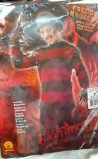 Freddy Krueger  Sweater Adult Medium Costume Nightmare Elm Street Halloween
