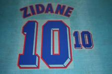 FIFA WORLD CUP 1998 France #10 ZIDANE Awaykit Name Set Printing