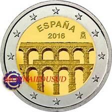 2 Euro Commémorative Espagne 2016 - Aqueduc de Segovie