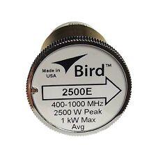 Bird 2500E Plug-in Element 0 to 2500 watts 400-1000 MHz for Bird 43 Wattmeters