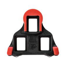 VP Components blk-sl ROAD PEDALE Tacchetta Set 0 gradi per sistema Shimano Nero / Rosso