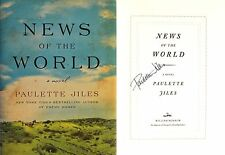 Paulette Jiles~PERSONALLY SIGNED~News of the World~1st/1st HC - NOT Tipped-in