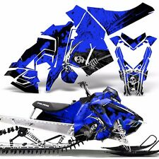 Sled Wrap for Polaris AXYS Graphic Kit Stickers Snowmobile SKS Pro RMK REAP BLUE