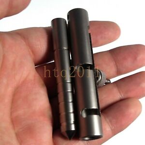 Titanium EDC tactical WAND Self Defense Safety Outdoor Multi Tools SURVIVAL tool