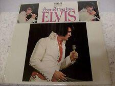 ELVIS PRESLEY ~ LOVE LETTERS FROM ELVIS ~ 1976 RCA LSP-4530 ~ TAN LABEL ~ SHRINK
