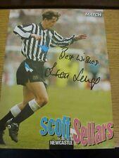 1992/1993 Amp: Newcastle United-Sellars, Scott. bobfrankandelvis eBay Trad