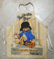 Paddington Bear Adult Apron Made in Uk 100% Cotton St. Michael Great for Teacher
