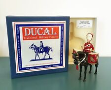 DUCAL MODELS British 2nd Dragoons Kettle Drummer Toy Soldier