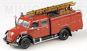 Magirus Deutz Merkur TLF16 - 1959 Feuerwehr Ulm 1:43 Minichamps 439141070