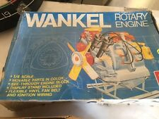 Vintage Boxed Wankel 1/4 Scale Rotary Engine by AMT Un-assembled Model Kit