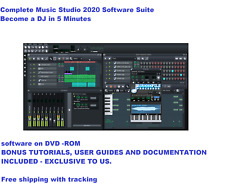 Music Studio 2020 Pro Music Production Software Suite Windows/Mac & BONUS