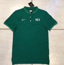 NWT NIKE Mexico Soccer Polo Shirt Men's Small