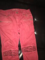 men robin jeans size 30 red