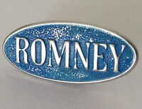 Mitt Romney Campaign Election Pin Badge US American Politics Rare Vintage (J7)