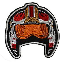 Star Wars - Piloten Helm Rebellen - Logo Patch Aufnäher zum Aufbügeln - neu