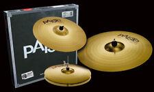 Paiste 101 Brass Universal Cymbal Set