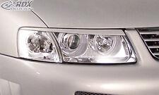RDX Scheinwerferblenden VW Passat 3B Böser Blick Blenden Spoiler Tuning