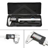 "6"" Inch Digital Vernier Caliper 150mm Stainless Steel Micrometer Electronic Tool"