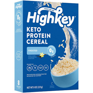 HighKey Keto Protein Breakfast Cereal - 0 Net Carb & Zero Sugar, Grain & Gluten