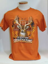 Lost Creek Outfitters I'm Doing Some Sight Seeing T-Shirt Deer Hunting Size M