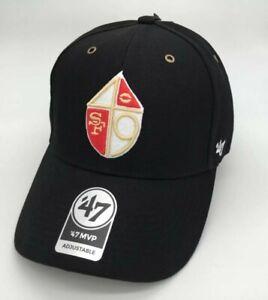 San Francisco 49ers '47 Brand Carhartt vintage legacy MVP Adjustable Hat black