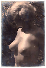 "NUDE WOMAN OUTDOORS STUDY / AKT STUDIE AKTFOTO * Vintage 1963 Photo ""L"""