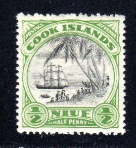1932 Niue SC# 53 - Landing of Capt. James Cook - M-H