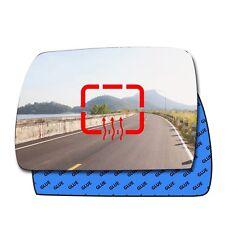 Left heated convex mirror glass BMW X5 E53 1999 - 2006 94LHS